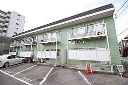 岡山県岡山市北区神田町1丁目の賃貸アパートの外観
