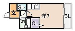 ジョイアスライフ[5階]の間取り