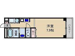 セントーレア[5階]の間取り