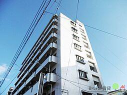 大阪府大阪市東住吉区矢田2丁目の賃貸マンションの外観