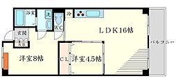 グリーンプラザ千里古江台[3階]の間取り