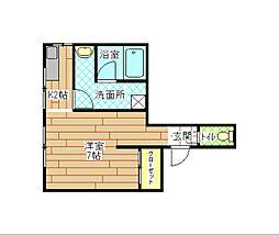 日東興産ビル[3階]の間取り