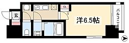 ファステート名古屋ラプソディ 7階1Kの間取り