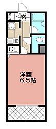 ピュアドームグランディー博多(513)[513号室]の間取り