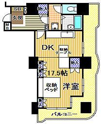 高見フローラルタウン七番街15号棟[5階]の間取り