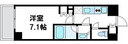 リコットハウス中野新橋[0203号室]の間取り