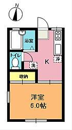 錦町ハイツ[2階]の間取り