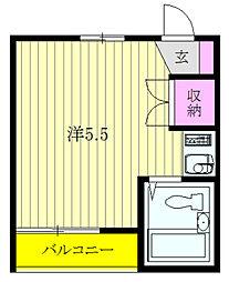 メゾニティ上石神井1号館[102号室]の間取り