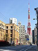 東京タワーが見えます。