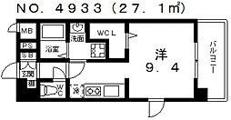 ヴィラルーチェ[704号室号室]の間取り