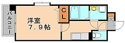 リアングォーム[4階]の間取り