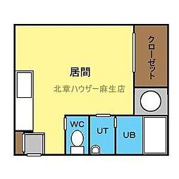 Nap−N32[3階]の間取り