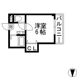 Collection小阪(コレクション)[308号室号室]の間取り