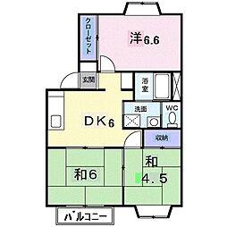 エーク963[0103号室]の間取り