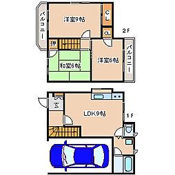 [テラスハウス] 兵庫県神戸市西区玉津町居住 の賃貸【兵庫県 / 神戸市西区】の間取り