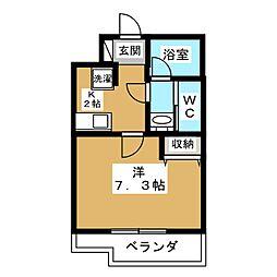 ベラジオ京都高台寺[5階]の間取り