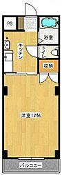 オクタワーズ宮崎南[306号号室]の間取り