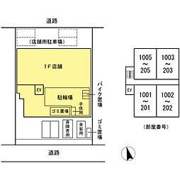 (仮)高島平プロジェクト[203号室]の外観