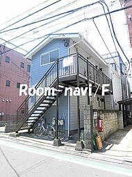 東京都荒川区東尾久1丁目の賃貸アパートの外観