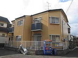 大阪府四條畷市江瀬美町の賃貸アパートの外観
