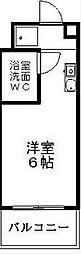長谷川ビル矢田南[4階]の間取り