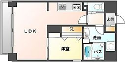 ヴィラハイネス舞鶴[3階]の間取り