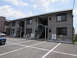 埼玉県行田市本丸の賃貸アパートの外観