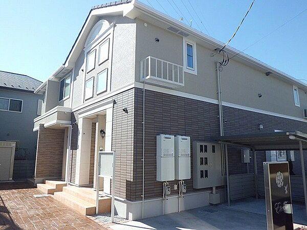 埼玉県久喜市青毛2丁目の賃貸アパートの外観