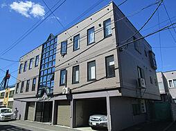 北海道札幌市東区北二十五条東15丁目の賃貸アパートの外観