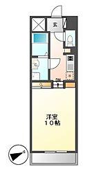 プライムアーバン千種(旧ロイジェント葵)[10階]の間取り