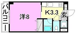 M・シャトー[207 号室号室]の間取り