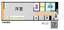 小田急小田原線 鶴川駅 バス8分 真光寺中学校入口下車 徒歩4分の賃貸アパート 2階1Kの間取り