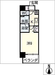 仮)押切2丁目マンション[9階]の間取り