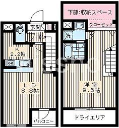 6816-プラチナフォート下井草[1階]の間取り