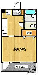 トーア錦糸町マンション[3階]の間取り