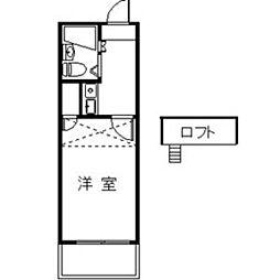 Hills Motoyama[101号室]の間取り