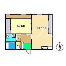 細川ビル[3階]の間取り