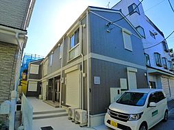 東京都足立区本木北町の賃貸アパートの外観