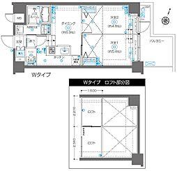 フェニックス飯田橋[1階]の間取り