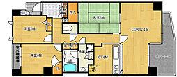 ルイシャトレ新神戸スイーツ[3階]の間取り