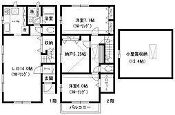 [テラスハウス] 東京都文京区白山2丁目 の賃貸【/】の間取り