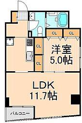 東京凱ショウビル[5階]の間取り