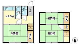 [一戸建] 兵庫県姫路市西今宿8 の賃貸【/】の間取り
