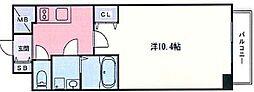 兵庫県姫路市土山7丁目の賃貸マンションの間取り