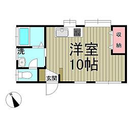 鎌倉ウィング[1階]の間取り