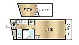 紅風荘[1階]の間取り