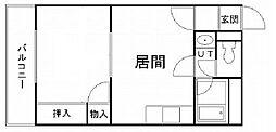 北海道札幌市南区澄川四条2丁目の賃貸マンションの間取り