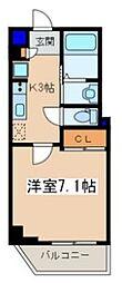 メゾン青空東戸塚[402号室]の間取り