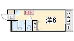 ユニックス神戸西[212号室]の間取り
