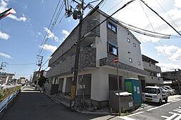 兵庫県宝塚市福井町の賃貸アパートの外観